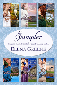 Cover: Elena Greene Sampler